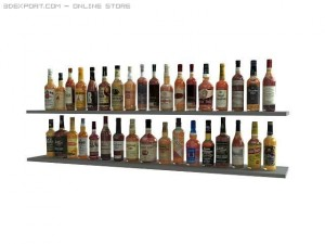 35 bottles of whisky