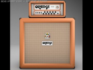 Orange AD140 Amp Half Stack