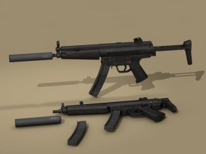 MP5 rifle