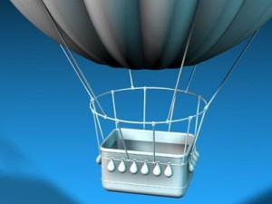 Fantasy montgolfiere