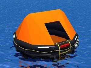 Rescue liferaft