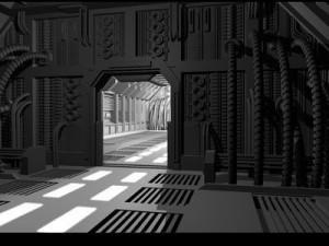 Science fiction door