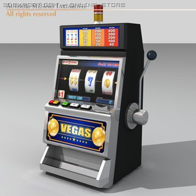Slot Machine 3d