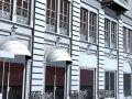 European building front