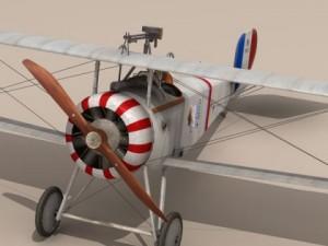 Nieuport 17 Lafayette Escadrille