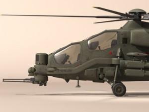 Agusta A129 Mangusta textured