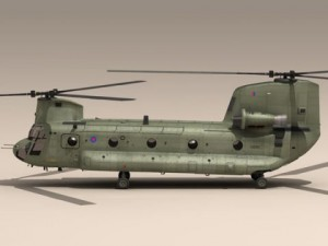 Ch47 RAF Helicopter