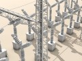Electrical substation elements