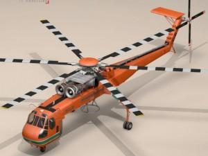 S64E Skycrane