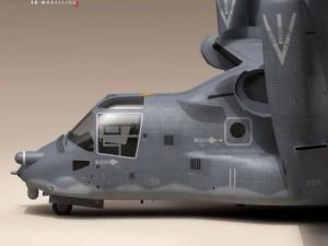 3D Models V22 Osprey USAF