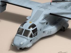 3D Models V22 Osprey US Marines