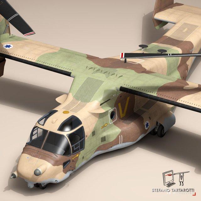 V22 Osprey IAF 3D Model