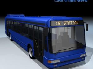 Intercity bus