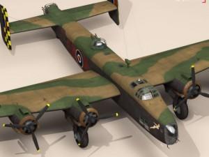 Handley page halifax MK3 RAF