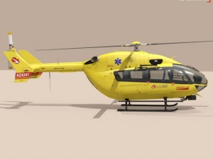 EC145 air ambulance