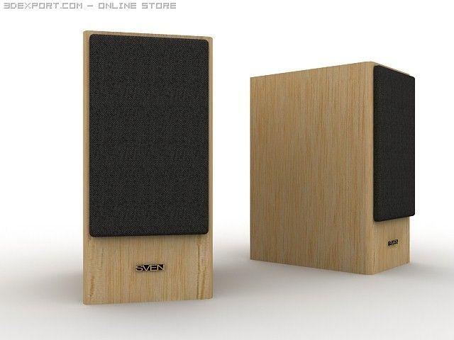 Speakers SVEN AF 210 3D Model