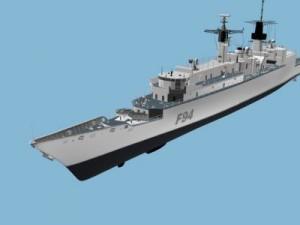 FRIGATE 22 HMS BRAVE F94