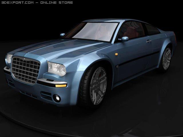 Chrysler 300c sport 3D Model