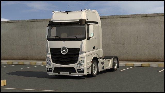 2011 Mercedes Benz Actros 3D Model