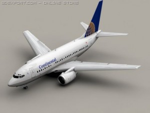 Boeing 737 600 Continental