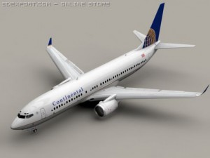 Boeing 737 800 Continental