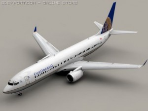 Boeing 737 900 Continental