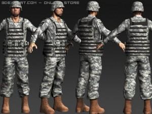 Daniel Military Cloth