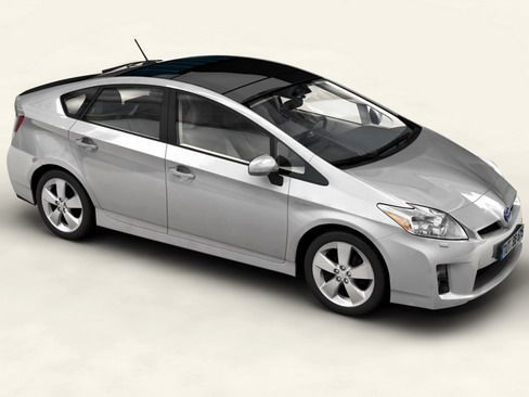 Toyota Prius 2010 low res int 3D Model