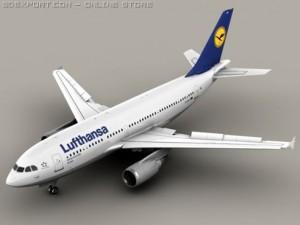 Airbus A310 Lufthansa