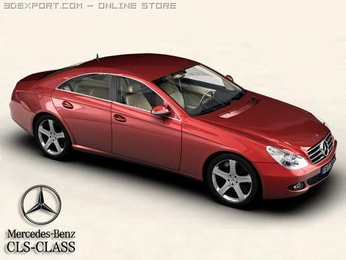 Mercedes CLS Class 3D Model