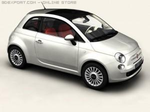 Fiat 500 2008