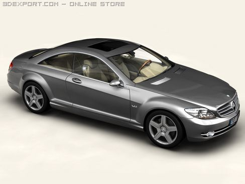 Mercedes CL Class 3D Model
