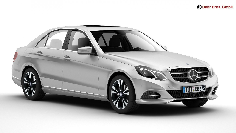 Mercedes E Class 2014 3D Model