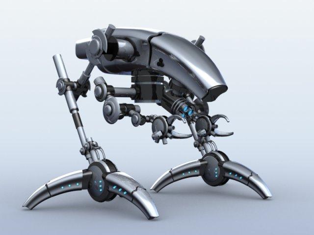 Robot 12 3D Model