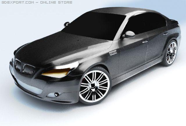 BMW 3X 3D Model