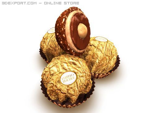Ferrero Rocher 3D Model