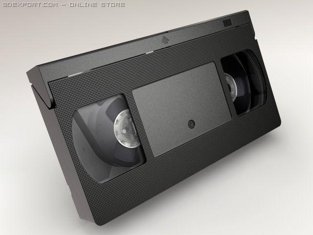 Videotape 3D Model