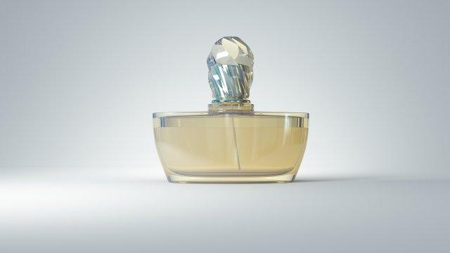 No name perfume 3D Model