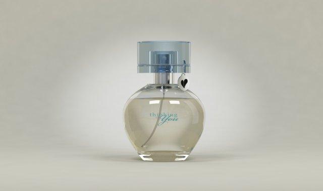 Perfume Mary Kay thinking of you 3D Model