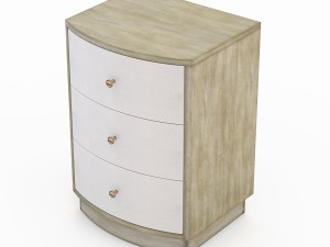 Currey and company Finn Night Stand