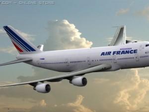 B 747 Air France Livery