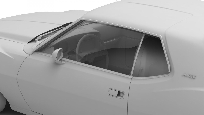 Amc javelin amx 71 3d model in classic cars 3dexport remove bookmark bookmark this item publicscrutiny Images
