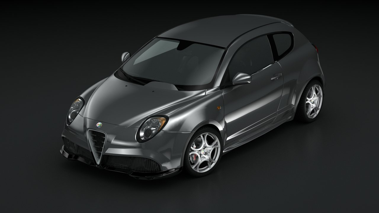 Alfa Romeo Mito Gta 09 3d Model In Sport Cars 3dexport