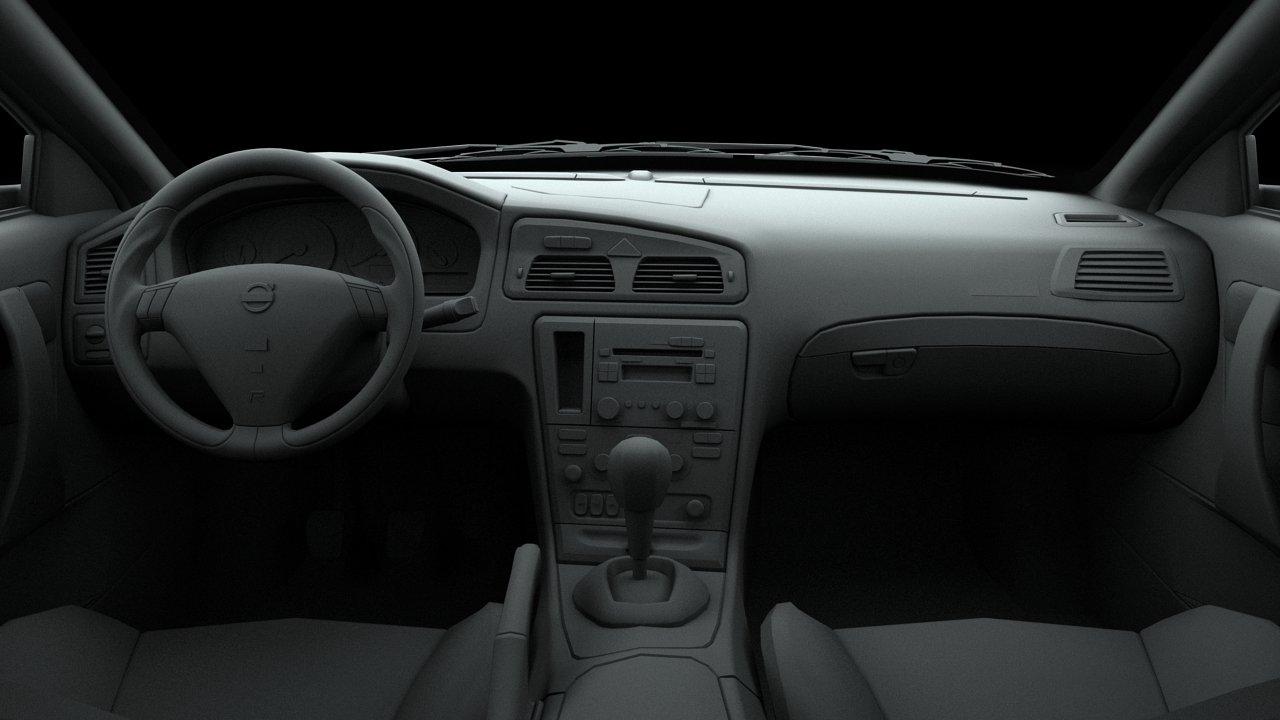 Volvo S60 R 2004 3D Model in Sedan 3DExport