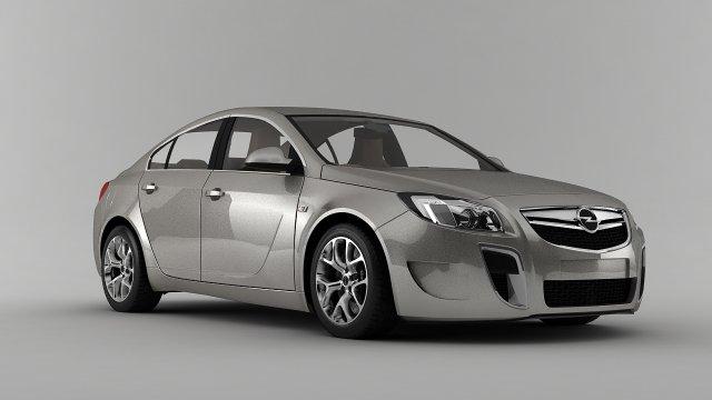 Opel Insignia OPC 2012 3D Model