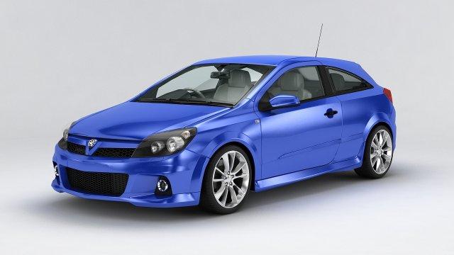 Vauxhall Astra VXR 2011 3D Model