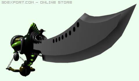 Chimera by Tilk Hero 3D Model