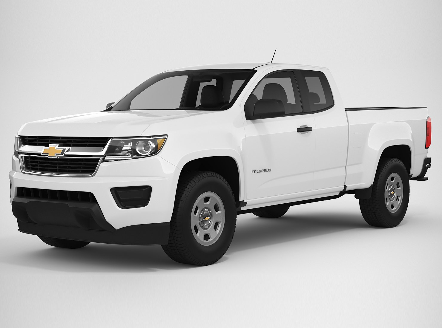 Chevrolet Colorado 2018 Extended Cab Modelo 3D in VUD 3DExport