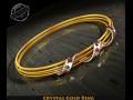 Crystal Gold Ring