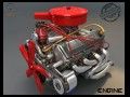 Turbo v8 Engine